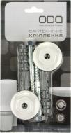 Кріплення для умивальника до стіни з ексцентриками і болтами 8x100 мм