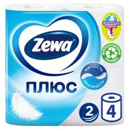 Туалетний папір Zewa Плюс двошаровий 4 шт.