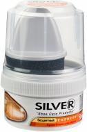 Крем для взуття Silver з губкою Express 50 мл натуральний