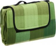 Килимок для пікніка UP! (Underprice) 135х175 см зелений у клітинку