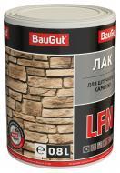 Лак для штучного каменю LFN BauGut напівмат 0,8 л прозорий