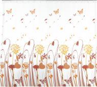 Шторка для ванної VANSTORE Wildflowers