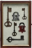Ключниця Ключ настінна А186-30B