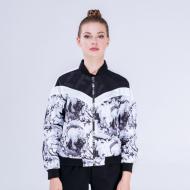 Куртка женская Peak Sport PEAK FW293108-BLA 2XS Черно-белый (6941123608664)