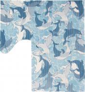 Набір килимків Oncu grup Dekomarin ASSORTI синій