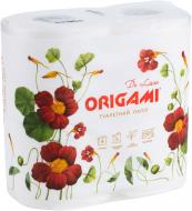 Туалетний папір Origami De Luxe тришаровий 4 шт.