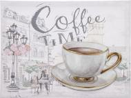 Картина Coffee time 30x30 см
