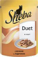 Корм Sheba  Duet з качкою та індичкою в соусі 85 г 7926