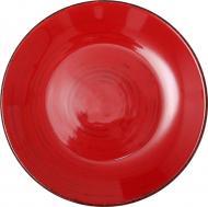 Тарілка обідня Antique Red 21 см Bella Vita