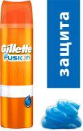 Гель для гоління Gillette Fusion Hydra Захисний 200 мл