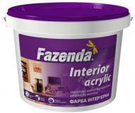 Краска акриловая Fazenda Interior мат 1,2кг