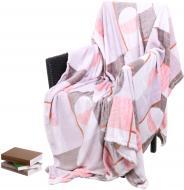 Плед мікрофібра Frannel 160x200 см рожевий La Nuit