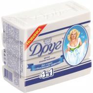 Хозяйственное мыло Друг c отбеливающим эффектом 540 г 4 шт./уп.