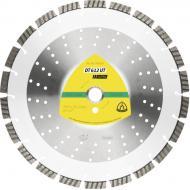Диск алмазний відрізний Klingspor Турбо DT612UT 230x2,6x22,2 універсальний 334047