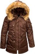 Куртка женская Alpha Industries N-3B XL какао