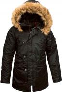 Куртка женская Alpha Industries N-3B S black