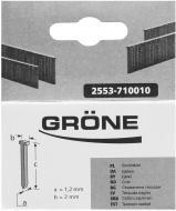 Цвяхи для електростеплера Grone 25 x 1,2 x 2 мм тип T14 1000 шт. 2553-820025