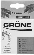 Скоби для ручного степлера Grone 12 мм тип A 500 шт. 2553-711112