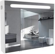 Зеркальный шкаф Aqua Rodos Париж 100 с подсветкой