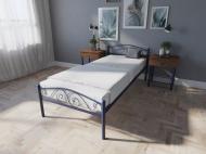 Кровать MELBI Элис Люкс Односпальная 90х190 см Ультрамарин
