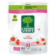 Гель для машинного та ручного прання L'Arbre Vert Аромат квітів (змінний блок) 1,5 л
