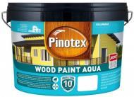 Краска Pinotex WOOD PAINT AQUA BW белый полумат 1 л