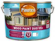 Краска Pinotex WOOD PAINT DUO VX+ BW полуглянец білий 2,5 л