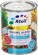 Эмаль Atoll алкидная ПФ-115 серый глянец 0,8кг