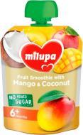 Пюре Milupa Pouch Яблуко банан манго і кокос 80 г