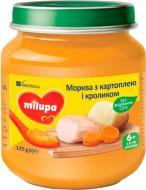 Пюре Milupa Морквина з картоплею і кроликом 125 г