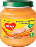 Пюре Milupa Морквина з картоплею і телятиною 125 г