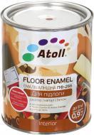 Эмаль Atoll алкидная ПФ-266 Желто-коричневый глянец 0,8кг