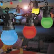 Лампа світлодіодна LightMaster LB-548 жовта G45 230 В 1 Вт E27