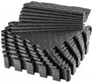 Килимок для йоги Energetics 30x30x1 см EVA Mat System 167034-050 чорний
