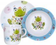 Набір дитячого посуду Frog 3 предмети