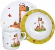 Набір дитячого посуду Giraffe 3 предмети