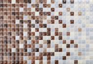 Плитка Керамин Гламур 3С коричневий мікс 27,5х40