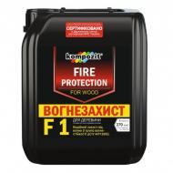 Огнебиозащита Kompozit для древесины F-1 1 группа огнестойкости 10 л