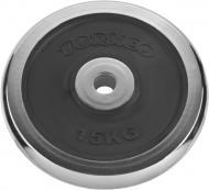 Диск Torneo 1022-150X для грифа 15 кг