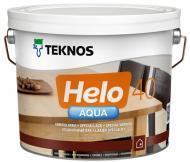 Лак Helo AQUA 40 TEKNOS напівглянець 2,7 л безбарвний