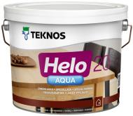 Лак Helo AQUA 20 TEKNOS напівмат 2,7 л безбарвний