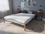 Кровать MELBI Элис Люкс Вуд Двуспальная  160*190 см Черный (КМ-018-02-9чер)