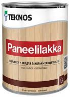 Лак панельний PANEELILAKKA TEKNOS напівмат 0,9 л безбарвний