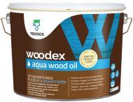 Масло для древесины TEKNOS Woodex AQUA Wood Oil 9 л