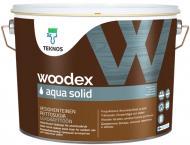 Антисептик TEKNOS Woodex AQUA Solid база под тонировку полумат 0,9 л