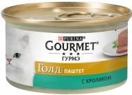 Корм Gourmet Gold паштет з кроликом 85 г