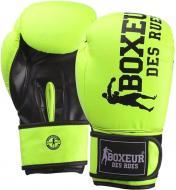 Боксерські рукавиці Boxeur BXT-5127 10oz салатовий