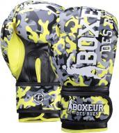 Боксерські рукавиці Boxeur BXT-5146 12oz жовтий