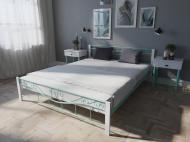 Кровать MELBI Эмили Двуспальная  160*200 см Бирюзовый (КМ-011-02-6бир)