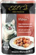 Корм Edel Cat з лососем та камбалою в желе 100 г